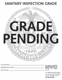 """100 Random NYC Restaurant Patrons Asked What The """"Grade Pending"""" Sign Means…Survey Says…"""