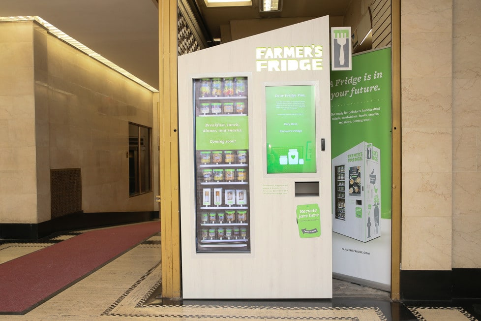 NYC's Health Dept. Cracking Down on Vending Machines That Sell Salads